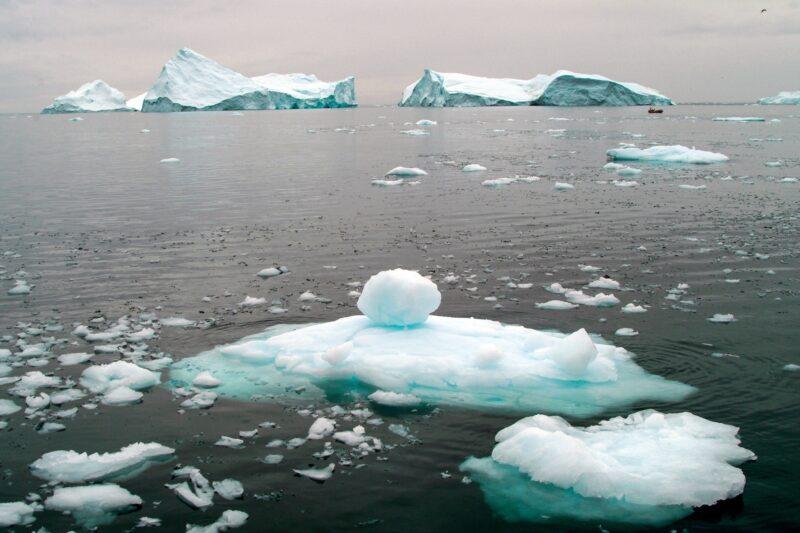 北極海の風景 グリーンランドの風景