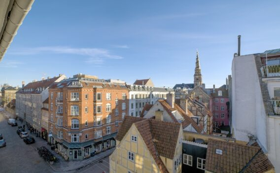 朝のコペンハーゲン デンマークの風景