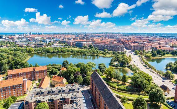 夏のコペンハーゲン デンマークの夏の風景