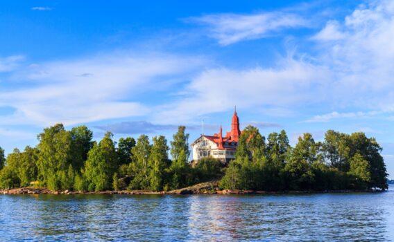 バルト海に浮かぶ島 フィンランドの風景