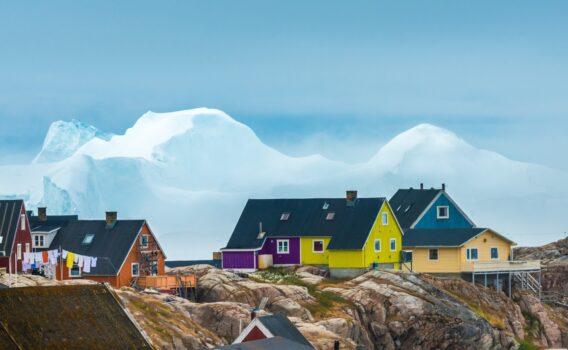 イルリサットの風景 グリーンランドの風景