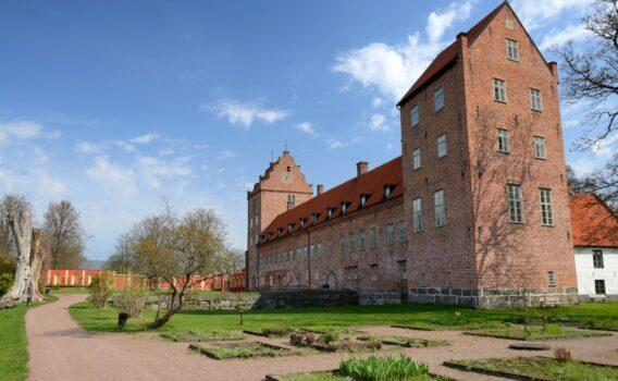バックスキック城 スウェーデンの風景