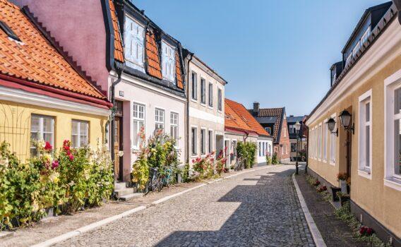イスタードの町並み スウェーデンの風景