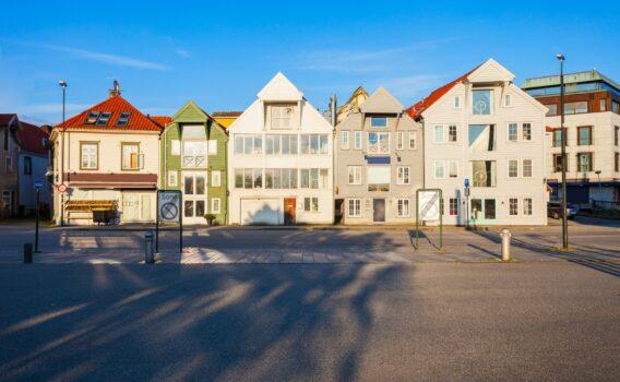 スタヴァンゲルの町並み ノルウェーの風景