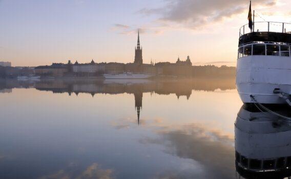 リッダルスホルメン島 ストックホルム スウェーデンの風景