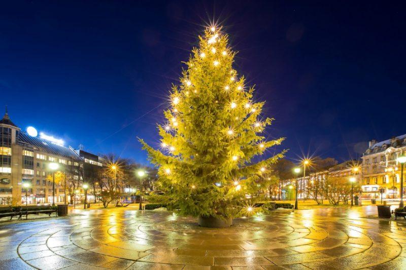 ノルウェーのクリスマスの風景