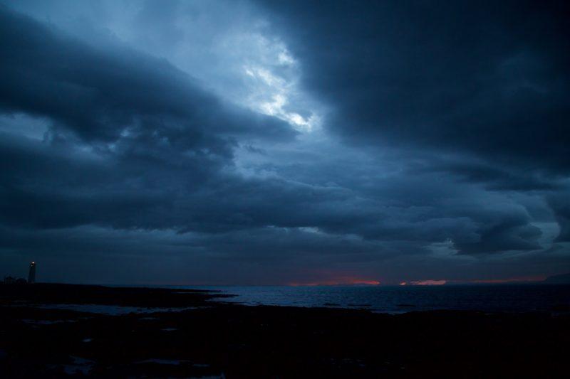 夏至のアイスランド レイキャビク
