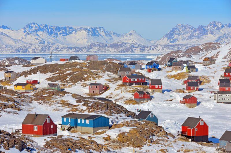 春のグリーンランド