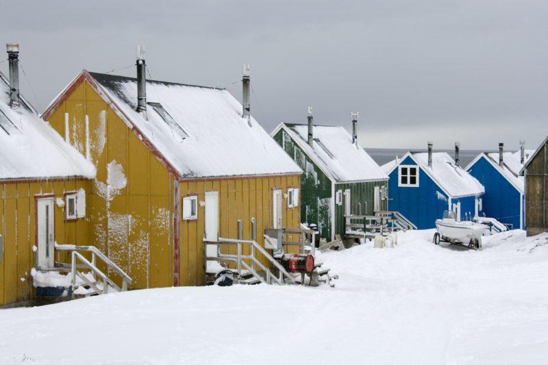 グリーンランド東部イトコルトルミット