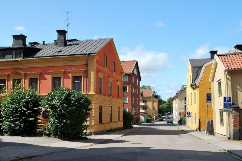 ウプサラの町並み スウェーデンの風景