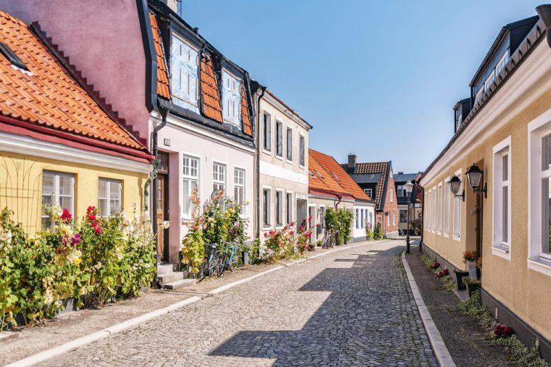 スウェーデン イスタードの町並み