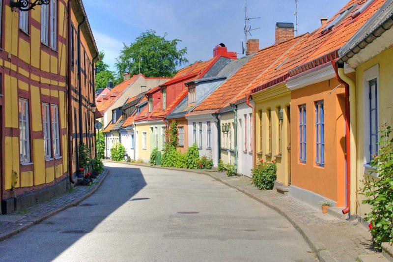 スウェーデン イスタードの夏の風景