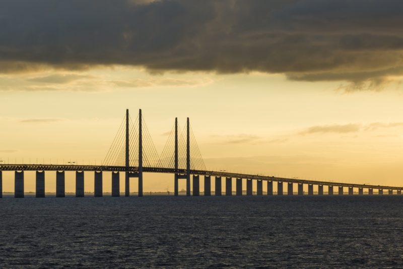 マルメとデンマークのコペンハーゲンを結ぶオーレスン橋