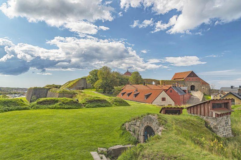 ヴァールベリ要塞の風景