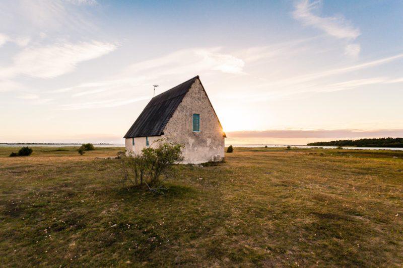 クリンテハムンの教会 ゴットランド島