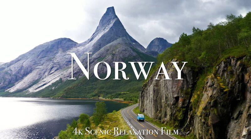 鳥になって空から美しいノルウェーを眺めてみるとそれはきっとこんな感じ